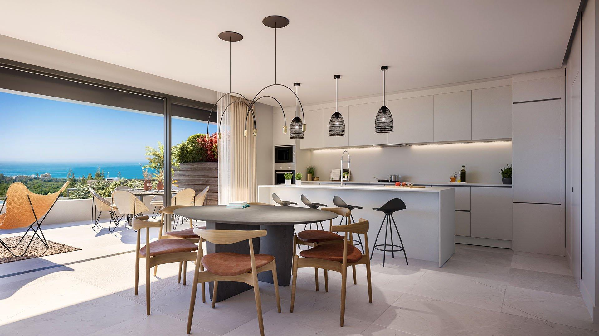 Artola Homes II: Gorgeous frontline golf apartments in Cabopino, Marbella