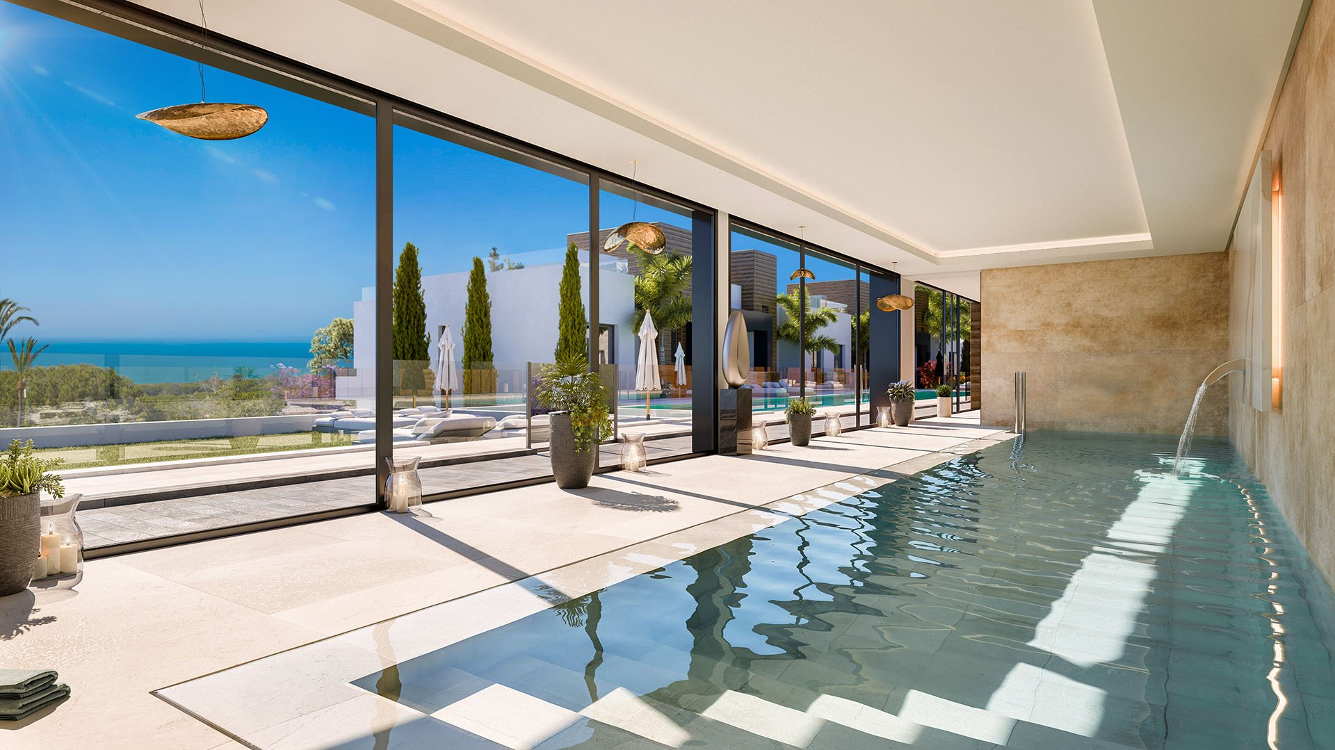 Artola Homes II: Prachtige eerstelijns golf appartementen in Cabopino, Marbella