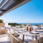 frontline golf apartments in Cabopino