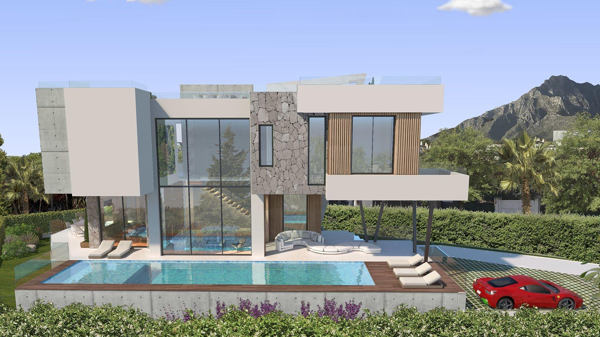 Villa Cypress: Prachtige villa aan de Golden Mile in Marbella