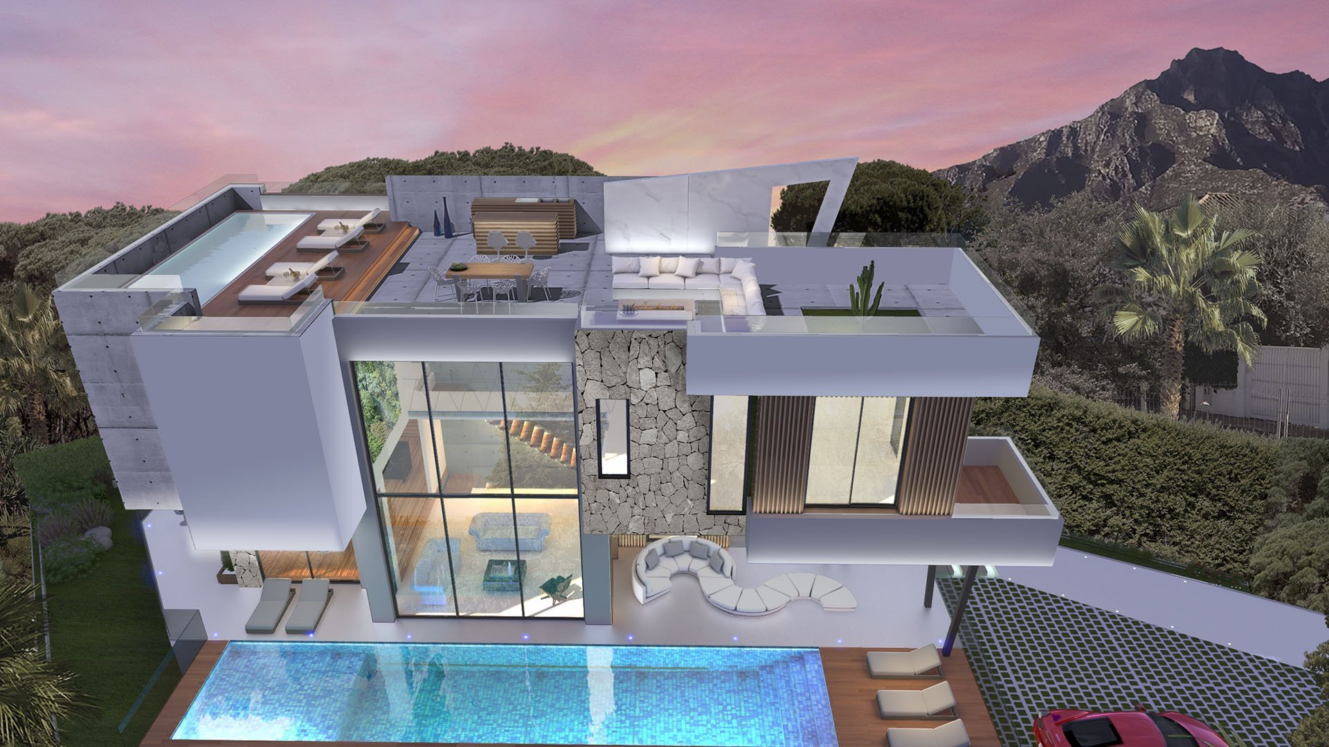 Villa Cypress: Beautiful villa on the Golden Mile in Marbella